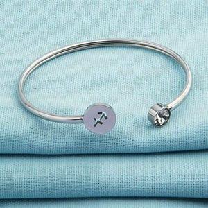 Jewelry - Sagittarius horoscope cuff bracelet